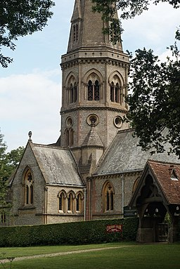 St.Barnabas Church, Ranmore Common - geograph.org.uk - 1395173