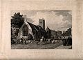 St. Clement's church, Oxford. Etching by H. le Keux, 1836, a Wellcome V0014685.jpg