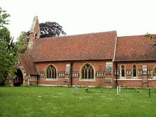 St. John the Evangelist church, Twinstead, Essex - geograph.org.uk - 178173.jpg