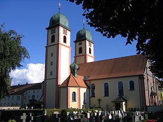Abbey of St. Märgen building in Sankt Märgen, Freiburg Government Region, Bade-Württemberg, Germany