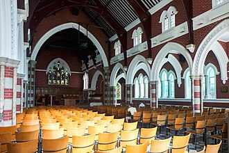 St Andrew's Church, Kowloon - Interior of the church