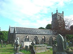 St Budock Parish Church, Budock Water, Near Falmouth, Cornwall - geograph.org.uk - 29773.jpg