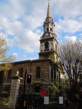 St Giles in the Fields.