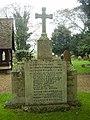 St Margret's Church War Memorial - geograph.org.uk - 1576591.jpg