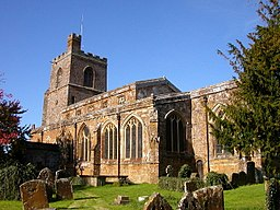 St Mary's Church from the southeast, Cropredy, Oxfordshire.jpg