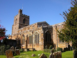 Cropredy - Image: St Mary's Church from the southeast, Cropredy, Oxfordshire