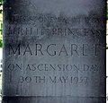 St Mary, Kennington Park Road, Newington, London SE11 - Foundation stone - geograph.org.uk - 2117439.jpg