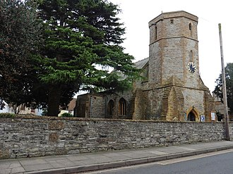 Church of St Mary Major, Ilchester - Image: St Mary Major, Ilchester (geograph 5608655)