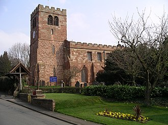 Fillongley - Image: St Marys and All Saints church 1a 07