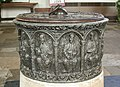 St Peter and St Paul, Dorchester, Oxon - Font detail - geograph.org.uk - 1622881.jpg