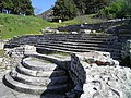 Staircase leading to the early christian Basilica A, Philippi (7272431838).jpg