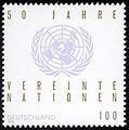 Stamp Germany 1995 MiNr1804 Vereinte Nationen.jpg