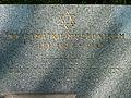 Starý židovský hřbitov v Táboře - památník 1955 - detail.jpg
