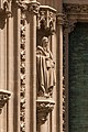 Statue Saint Jude portail cathédrale Séville Espagne.jpg