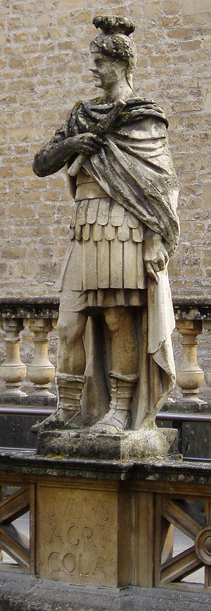 Scotland during the Roman Empire - Statue of Gnaeus Julius Agricola