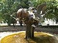 Statue of birds by Sándor Györfi, 2017 Máriapócs.jpg