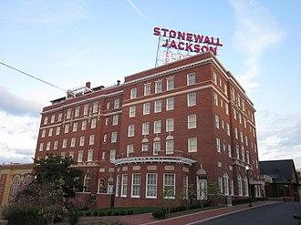 Stonewall Jackson Hotel - Stonewall Jackson Hotel building