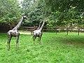 Steel giraffes at Birmingham Nature Centre - geograph.org.uk - 1602672.jpg