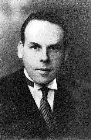 Walter Johannes Stein - Walter Johannes Stein, circa 1930