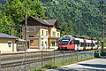 Steindorf am Ossiacher See Bodensdorf Bahnhofstraße 5 Zugbahnhof 23052019 7094.jpg