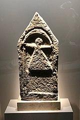 Stèle punique à l'effigie de la déesse Tanit