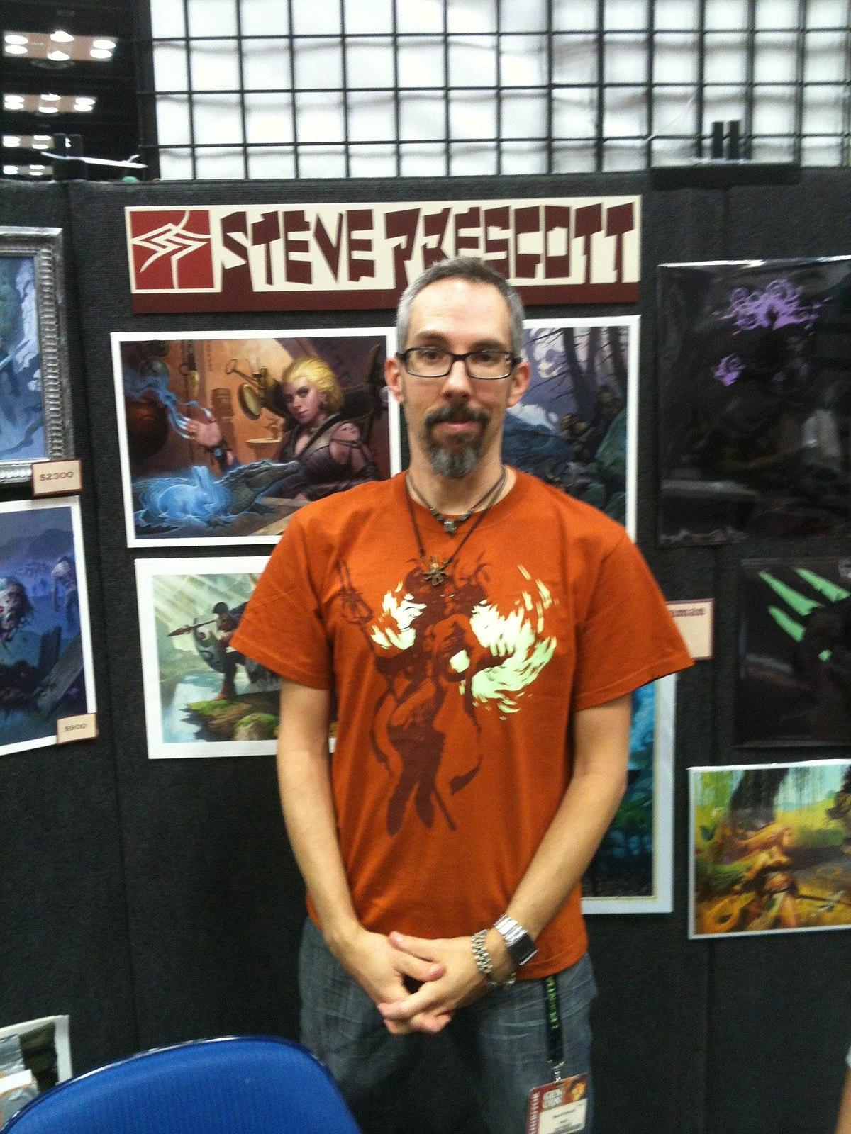 Steve Prescott (artist) - Wikipedia