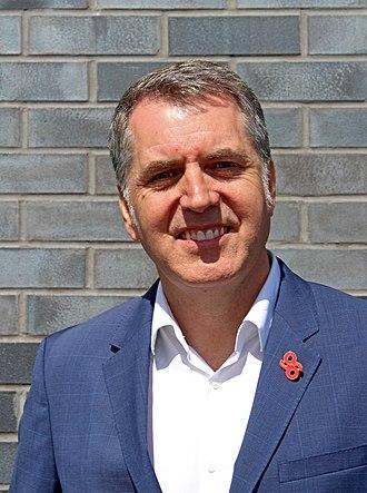 Mayor of the Liverpool City Region - Image: Steve Rotheram 2018