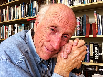 English: Stewart Brand at his home in Sausalit...