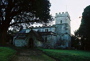 Stockton, Wiltshire - Image: Stockton Church 1