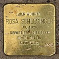 Stolperstein Bartningallee 3 (Hansa) Rosa Schlesinger.jpg