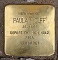 Stolperstein Bayerische Str 12 (Wilmd) Paula Wolff.jpg
