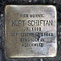 Stolperstein Köpenicker Str 183 (Kreuz) Kurt Schiftan.jpg