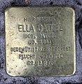 Stolperstein Nazarethkirchstr 49 (Weddi) Ella Gattel.jpg