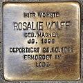Stolperstein Rosalie Wolff Hochstraße 20 0107.JPG