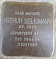 Stolperstein Windeck Rosbach Kirchstraße Arthur Seligmann.jpg