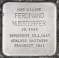 Stolperstein für Ferdinand Nussdorfer (Hallein).jpg