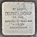 Stolperstein für György Deutsch (Miskolc).jpg