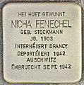 Stolperstein für Nicha Fenechel (Differdingen).jpg