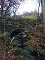Stone bridge at Clough House, Slaithwaite - geograph.org.uk - 1544831.jpg