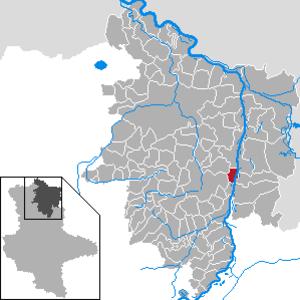Storkau, Stendal - Image: Storkau (Elbe) in SDL