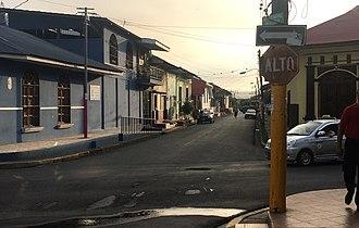 Masaya - Street view of Masaya