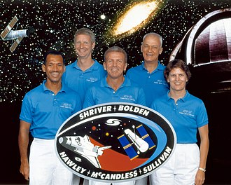STS-31 - Image: Sts 31 crew