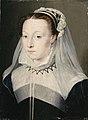 Studio of François Clouet Portrait of a Lady formerly called Antoinette d'Orléans, duchesse de Retz.jpg