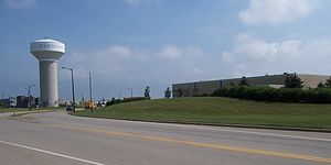 Sturtevant, Wisconsin - Distribution warehouses are a common sight along the western side of Sturtevant