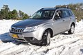 Subaru Forester at the Mountains of Jerusalem in the snow.jpg