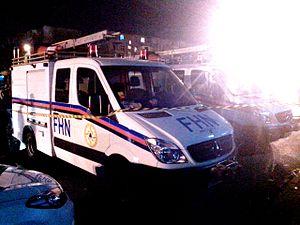 Ministry of Emergency Situations (Azerbaijan) - Image: Sumqayıt. Karvan Ticarət Mərkəzində yanğın. 19.10.2013. (15)