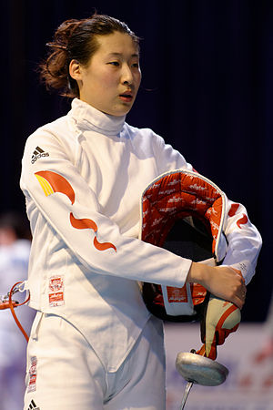 Sun Yujie - Sun at the 2014 Saint-Maur World Cup