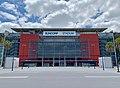Suncorp Stadium, Milton Road facade, Brisbane 01.jpg