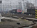 Sunday Morning at Breclav Station - Central European Railfreight hub. Dual-voltage 116 034-O OBB Bo-Bo.jpg