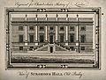 Surgeons' Hall, Old Bailey, London, the facade. Engraving, 1 Wellcome V0013126.jpg